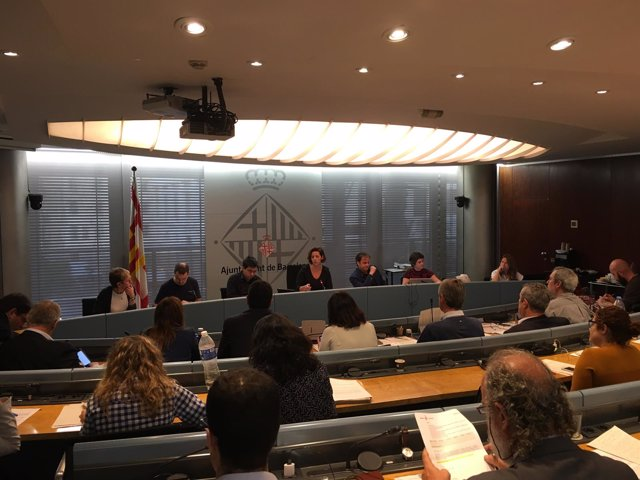 La comisión del Ayuntamiento de Barcelona