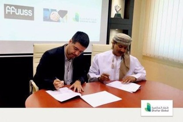 Firma acuerdo ffuuss / Dhofar Global