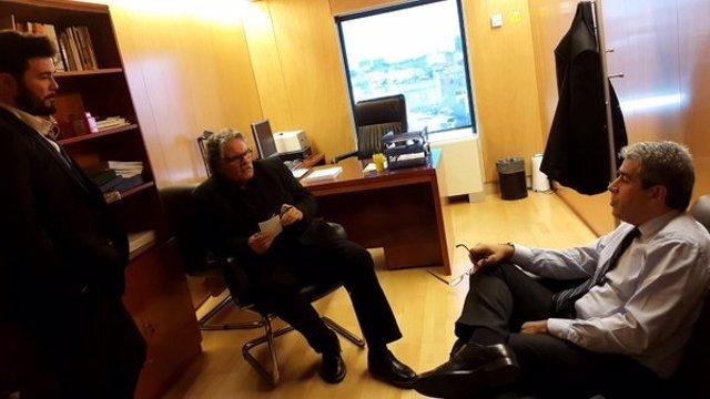 Reunión de Tardà y Homs