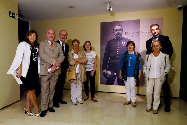 Inauguración de la exposición 'El general Picasso.Militar y dibujante'.