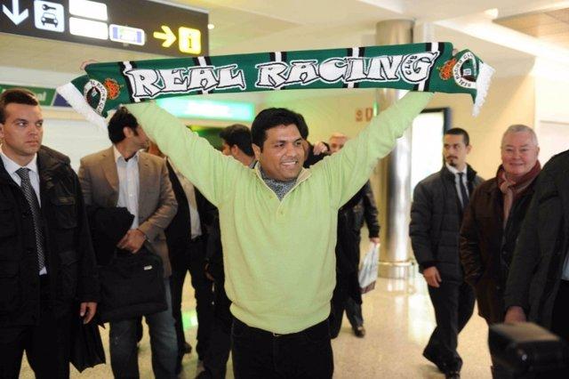 Ahsan Ali Syed, propietario del Racing de Santander