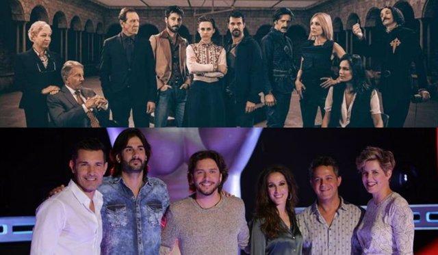 El Ministerio del Tiempo y La Voz, entre los vencedores de Premios Ondas 2016