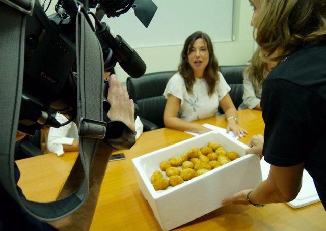 Las 'croquetas ilegales' durante la reunión con el PP