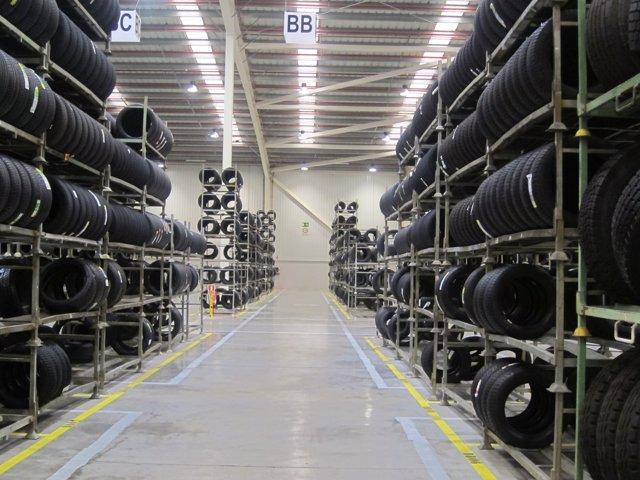 Almacén de Michelin en  Subirats
