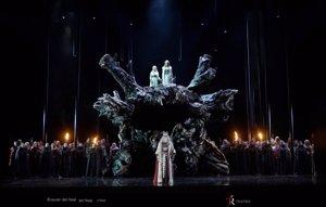 La ópera 'Norma', de Bellini, regresa mañana al Teatro Real 102 años después