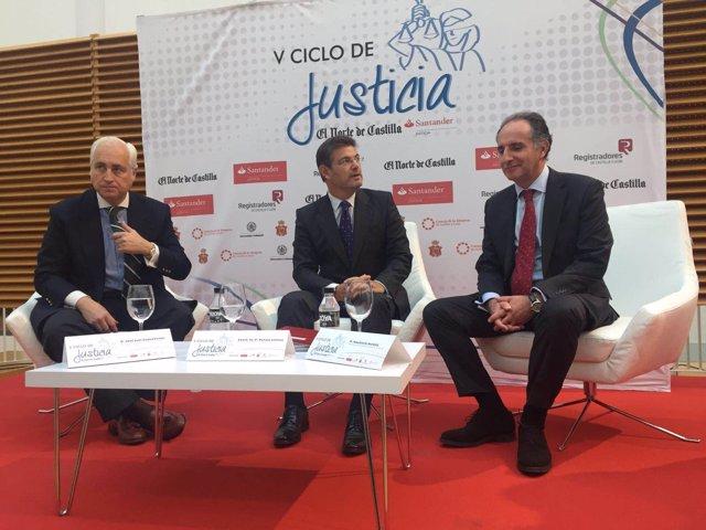 Catalá en las V Jornadas de Justicia organizadas por El Norte de Castilla