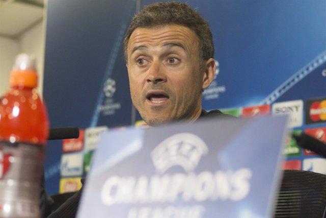 Luis Enrique,Rueda de Prensa Champions League post partido, Atlético-Barcelona