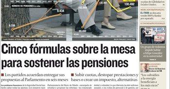 Las portadas de los periódicos económicos de hoy, jueves 20 de octubre