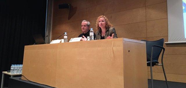 Jordi Via y Sara Berbel