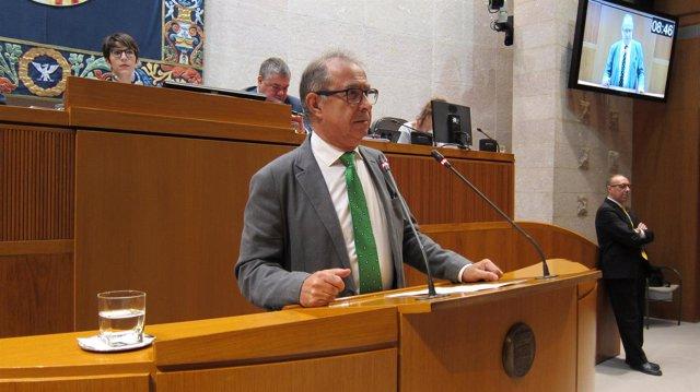 El consejero Fernando Gimeno