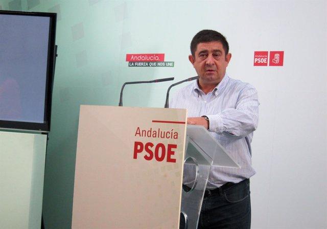 Imagen de archo del secretario general del PSOE de Jaén, Francisco Reyes.