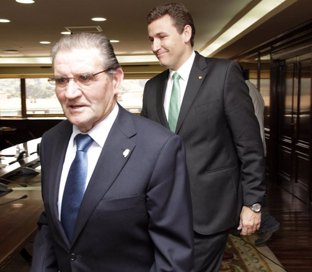 Andrés Gómez Mora y Víctor Martín