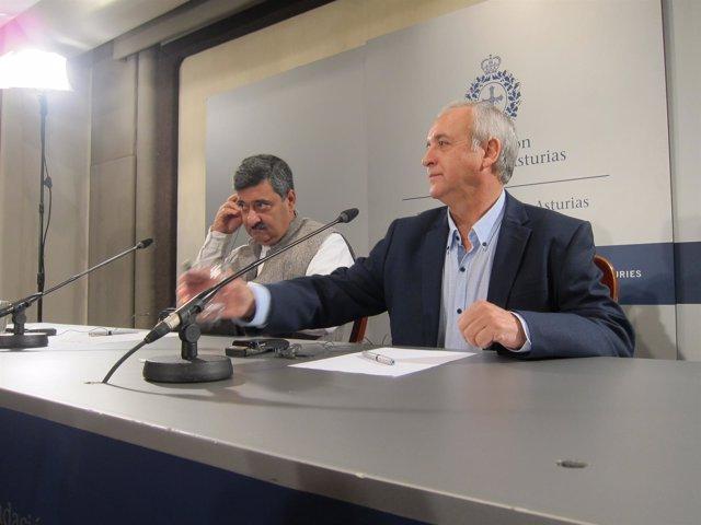 Siddhartha Kaul y Pedro Puig.