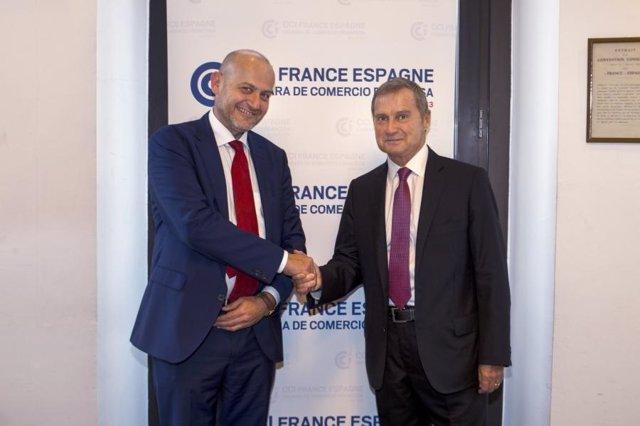 Christian Stein (Seat) y Philippe Saman