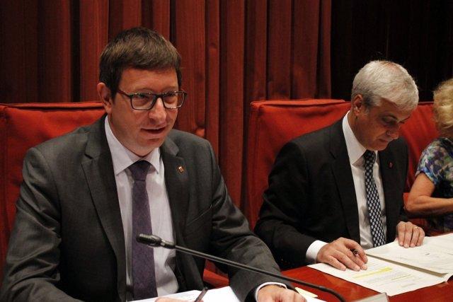 Carles Mundó (Justicia) comparece en el Parlament