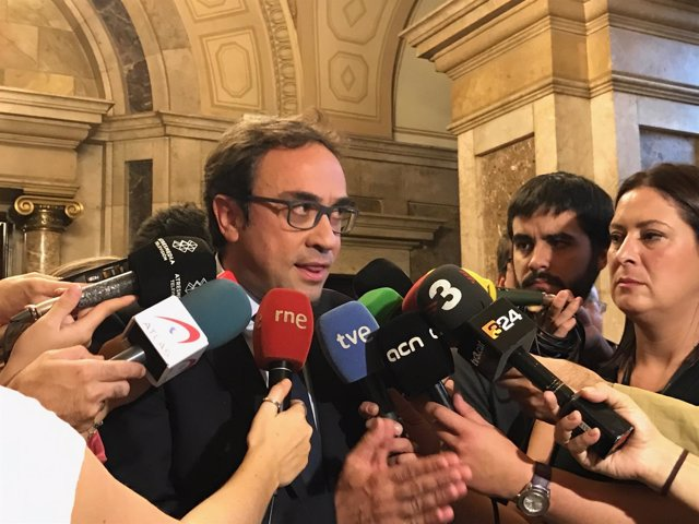 El conseller de Territorio y Sostenibilidad, Josep Rull