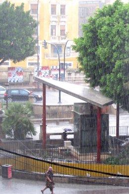 Temporal De Lluvia Y Granizo En Murcia