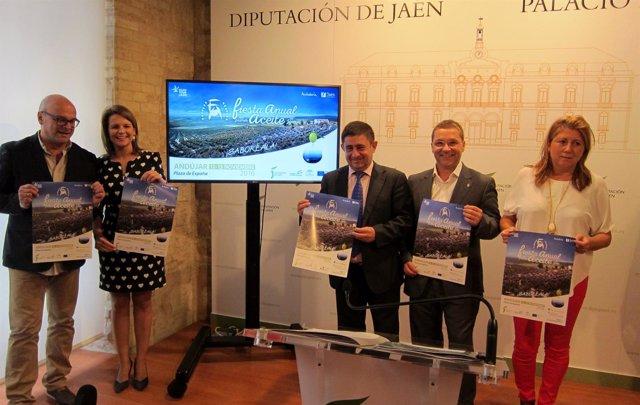 Presentación de la III Fiesta del Primer Aceite de Jaén.