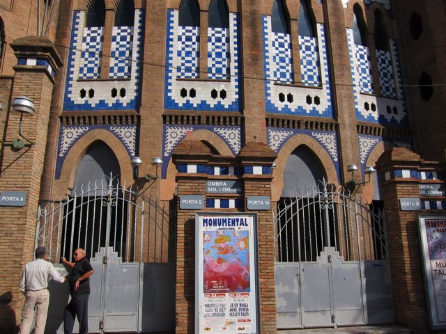 Plaza De Toros De La Monumental De Barcelona