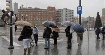 Lluvias abundantes por todo el país hasta el próximo miércoles, según AEMET
