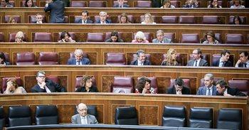 El Congreso convalida, con el apoyo de PP, PSOE y Ciudadanos, la reforma...
