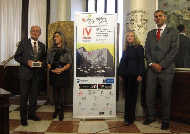 Presentación en Málaga del Fórum de Ciudades Creativas