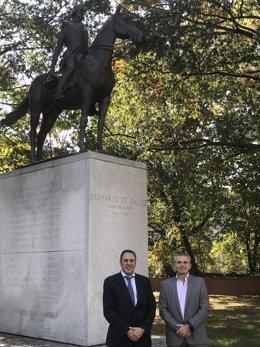 Bernardo de gálvez estatua andrade francsico javier fernandez turismo EEUU
