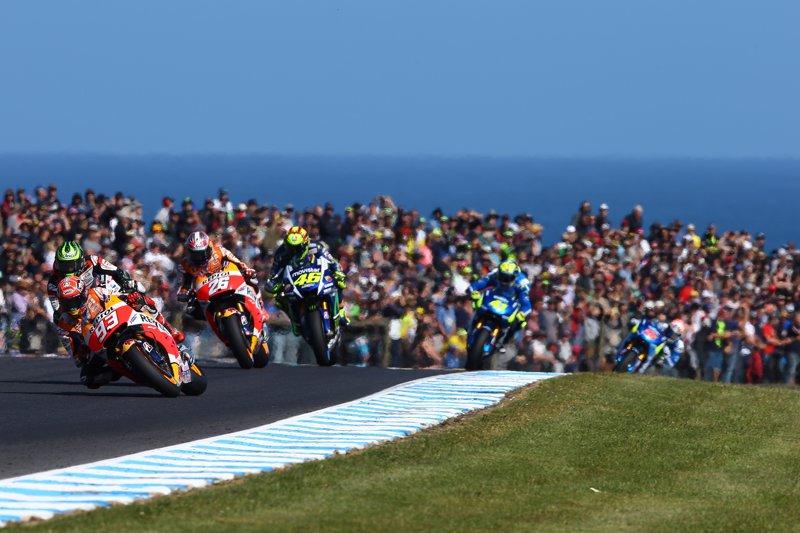 Rossi, Lorenzo y Viñales inician en Phillip Island la batalla por el subcampeonato