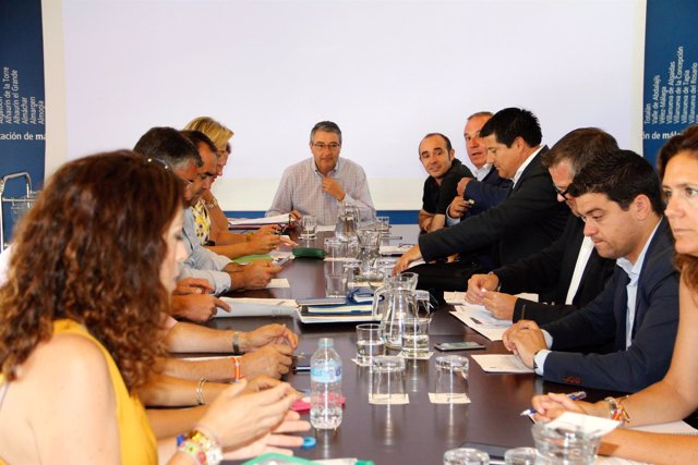 Junta de gobierno de Diputación octubre 2016