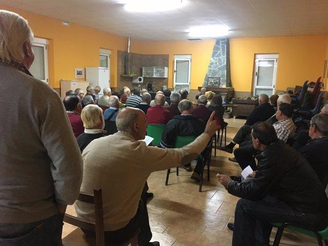 Reunión de afectados por MUP en Voto
