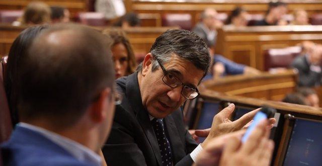 El socialista Patxi López