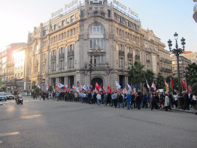 FOTO: Concentración Popular Vigo