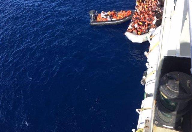 Salvamento marítimo en el Mediterráneo