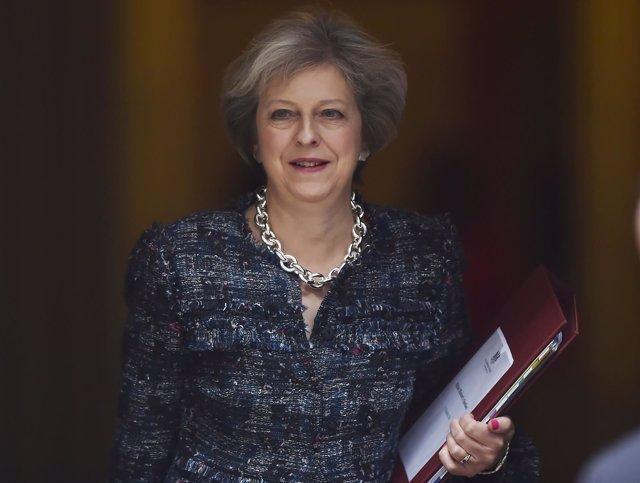 La primera ministra de Reino Unido, Theresa May