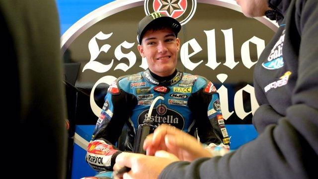Jorge Navarro en el GP de España