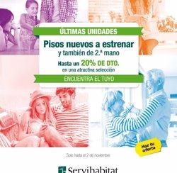 Servihabitat augmenta la seva cartera de lloguers un 15% interanual en el tercer trimestre (SERVIHABITAT)