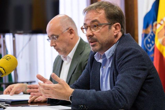 El consejero de Desarrollo Económico del Cabildo, Raul García Brink