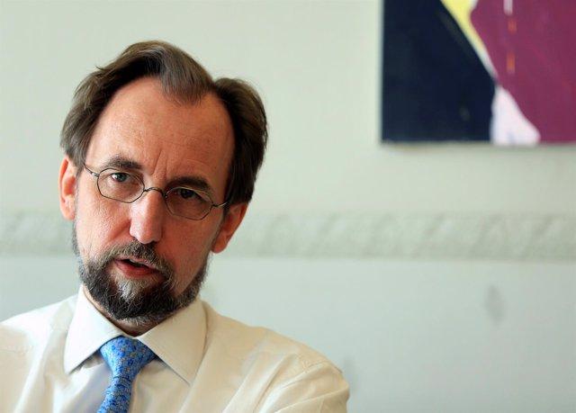 El Alto Comisionado de la ONU para los Derechos Humanos, Zeid Raad al Hussein