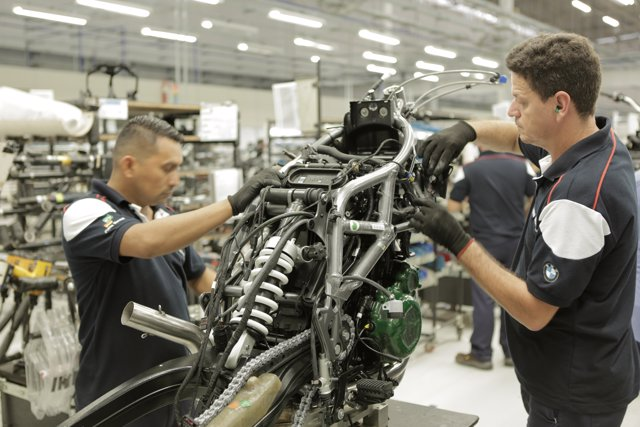Planta de BMW Motorrad en Manaos (Brasil)