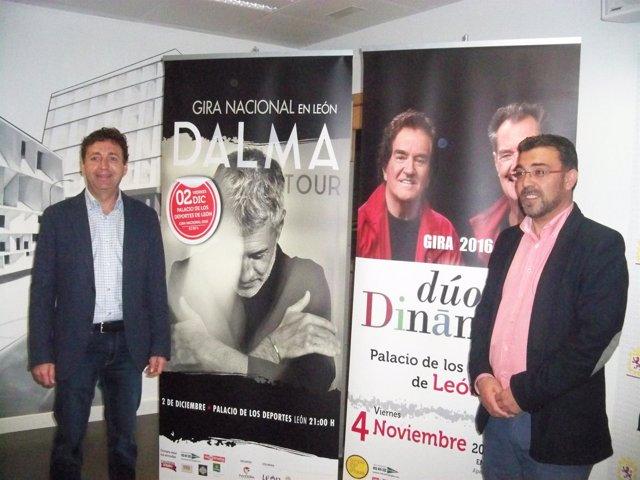 Presentación de los próximos conciertos en León