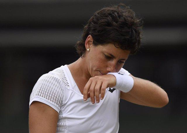 La tenista española Carla Suárez