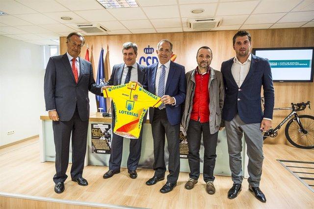 Presentación de la Copa de España de Ciclocross