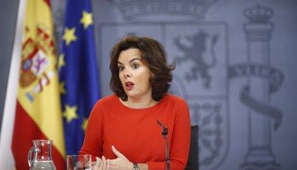 Santamaría pide no adelantar acontecimientos ante el anuncio del PSOE de no apoyar los PGE