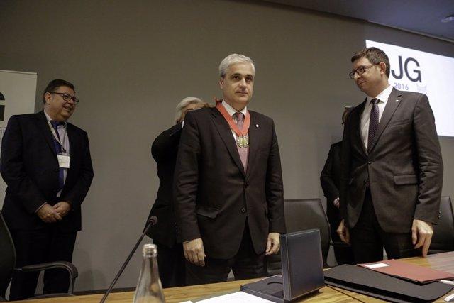 Ndp: El Consell De L'advocacia Catalana Lliura La Medalla D'or A L'exconseller D