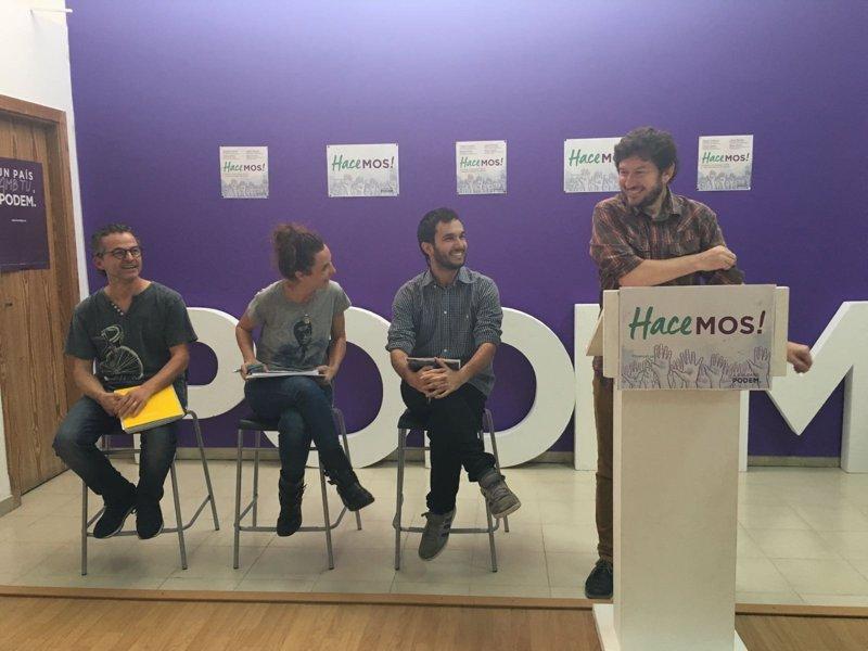 Podemos presenta en Palma una nueva convocatoria del programa Impulsa para apoyar proyectos sociales