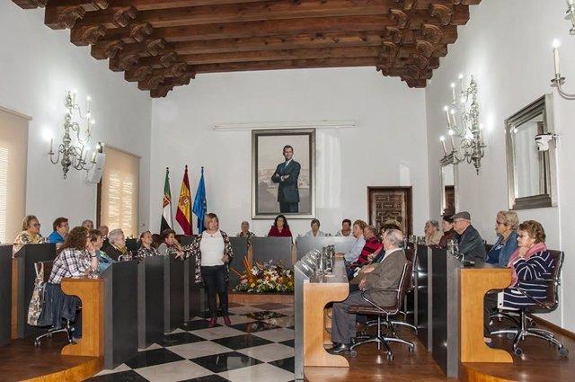Pleno de Mayores en la Diputación de Cáceres