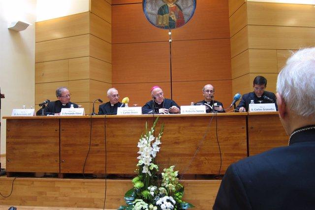El cardenal Filoni presenta su libro 'La Iglesia en Irak'