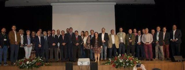 Foto de familia de Declaración de Montánchez (Cáceres)