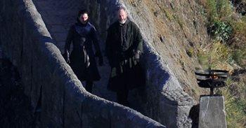 Kit Harington (Jon Nieve) ya rueda Juego de tronos en San Juan de...