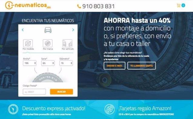 Foto: COMUNICADO: i-Neumaticos refuerza sus servicios en su nueva tienda online (I-NEUMATICOS)